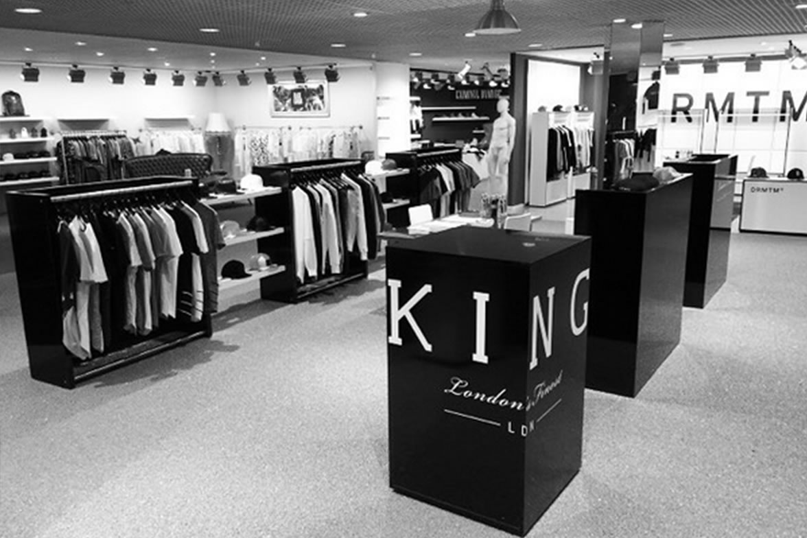 King Apparel showroom