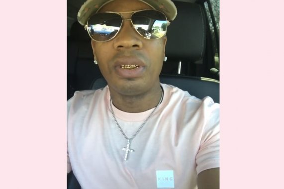 US hip hop artist Plies