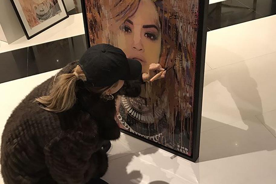 Rita Ora Art