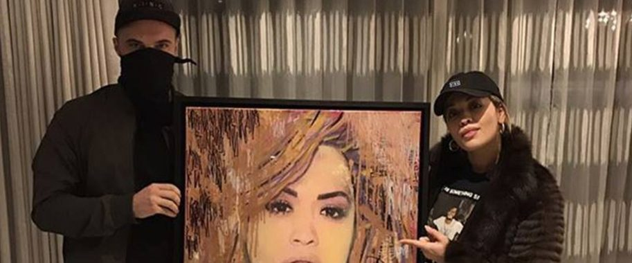 Endless artist creates Rita Ora artwork