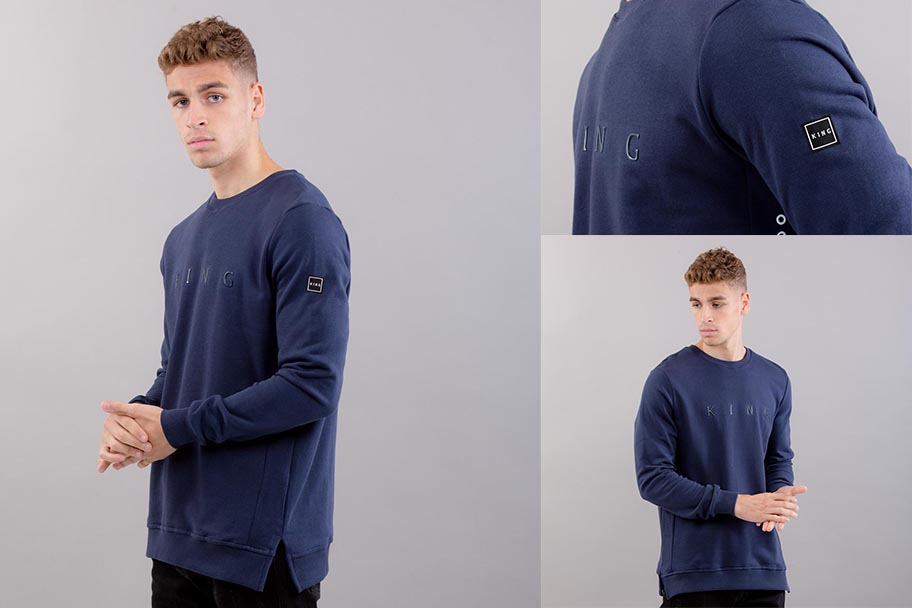 The Bethnal Sweatshirt in Navy