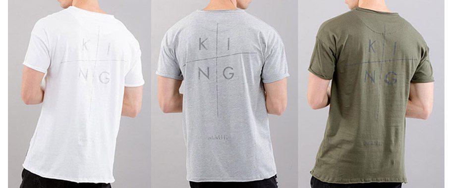 British Streetwear T-shirts KING AW17