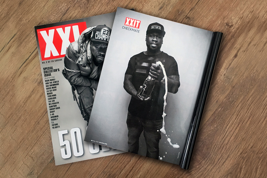 XXL 50cent cover story. KING London
