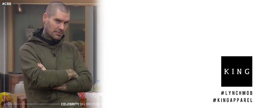 Shane Lynch wears King Apparel on CBB