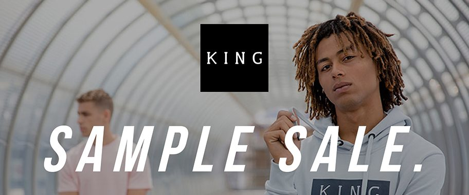 KING sample sale at Truman Brewery