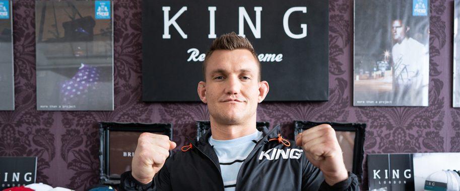 UFC fighter Ian Heinisch visits KING HQ