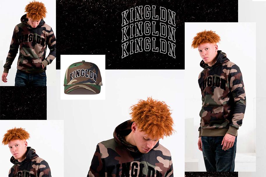 Camo streetwear hoodie
