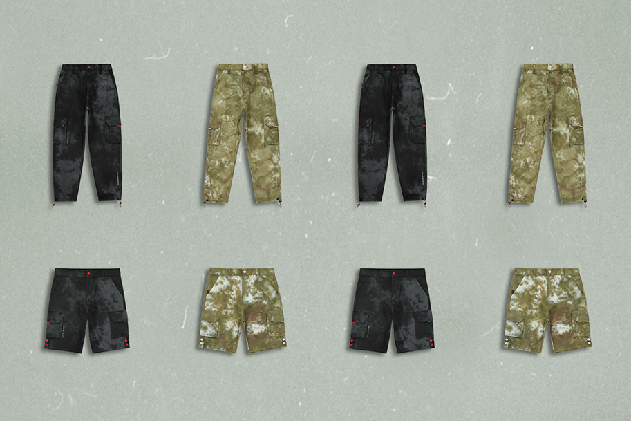 camo cargo pants and shorts