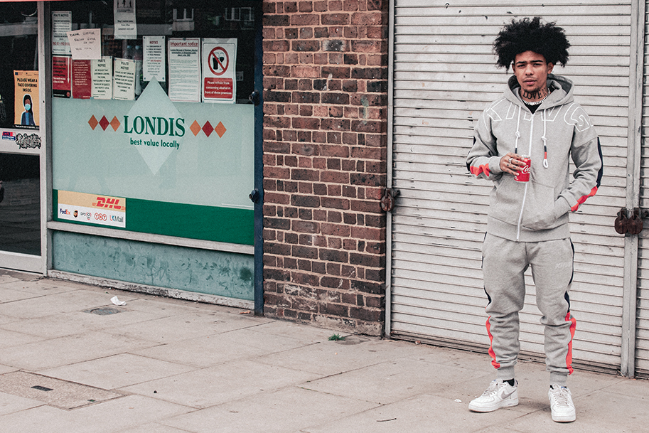 SBK in the manor tracksuit grey
